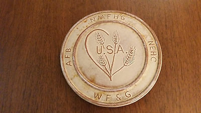 Frankoma Trivet Associated Country Women Of The World 1989