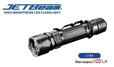 New Jetbeam JET-IIM Cree XP-L HI 1100 Lumens LED Flashlight Torch ( 18650 )