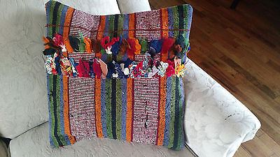 "Turkish Kilim Pillow Kelim Cushion Cover High Quality 16""x16"""