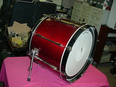 """PEARL  Export Series Laquer 22"""" headsize by 16"""" Deep Bass Drum No Res #11"""