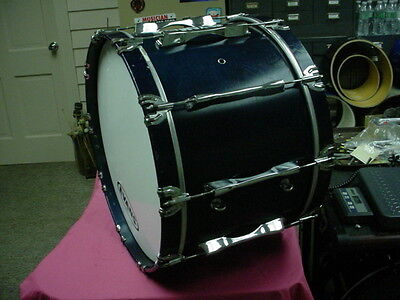 "Blue Laquer Color  YAMAHA  Field CORP. 22"" Headsize by 14"" Deep Bass Drum NoR#16"
