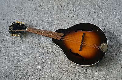 Vintage 1950s A-style Kay mandolin with case