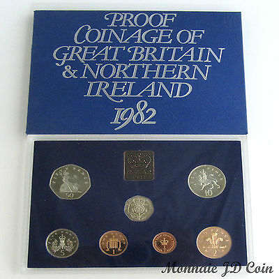 1982 The Coinage of Great Britain & Northern Ireland Original Mint Proof set