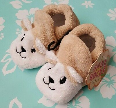 Lovely Baby unisex Anti-Slip Socks Slippers  Booties 0-12 Months Cartoon Shoes