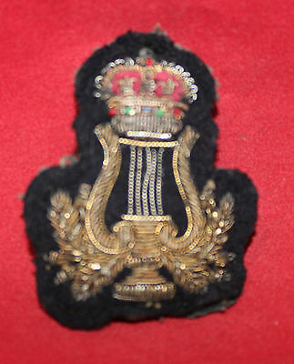 1950-1956 era, Bandsman, Gold Wire, Trade Badge / Flash (inv 7391)