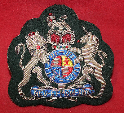 1952-1967era, WO 1st Class, Silver Wire, Trade Badge / Flash (inv 7502)