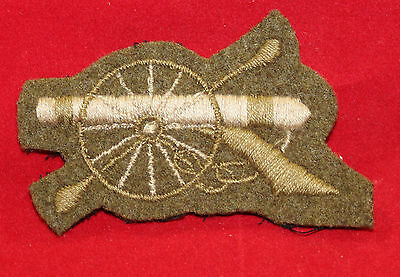 WW2 era, Canadian / British RCA Corps Shoulder Cloth Trade Flash (inv 7345)