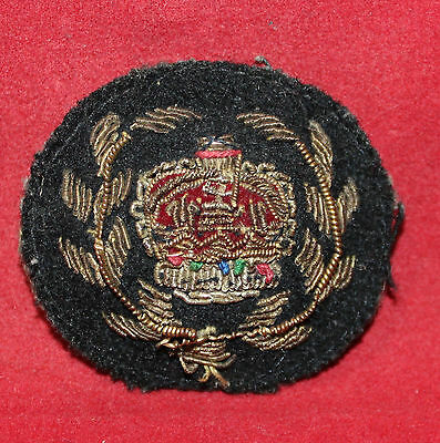 1952-1967era, WO 2nd Class Gold / Silver Wire Trade Flash (inv 7513)