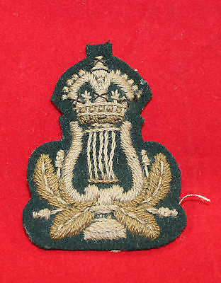WW1 era, Bandsman (Irish) Cloth Trade Flash / Badge  (inv 7316)
