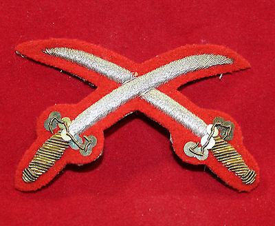 1900-1920 era, Physical Training Instructor Gold Wire Trade Flash  (inv 7377)