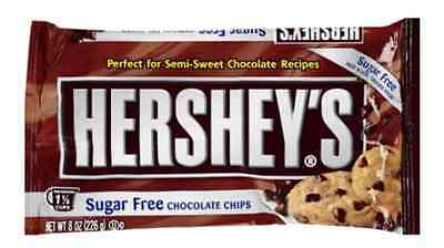 Hershey's Sugar Free Chocolate Chips 8 oz
