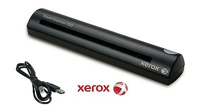Xerox USB Travel Scanner 100 (Scans receipts, business cards, and paper docs)