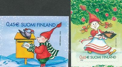 Finland 2003 MNH Set of 2 Stamps - Christmas - Issued October 31, 2003