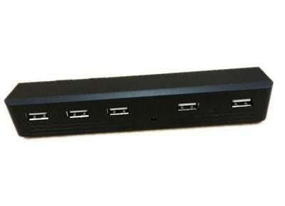 DZ491* For Playstation 3 PS3 Slim Charge 5 Port USB HUB Adapter Reader PS3