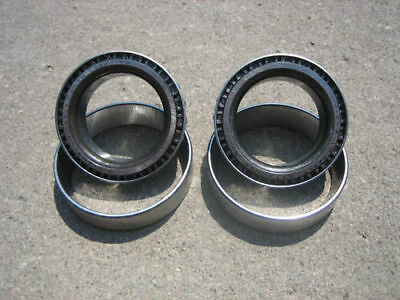 """(2) 9"""" Inch Ford Timken USA Carrier/Side Bearings & Races - 2.89"""" - LM102910-49"""