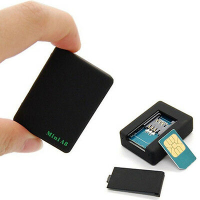 Mini A8 Global Locator Real Time Car Kid Pet GPS Tracker GSM/GPRS Track Spy