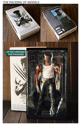 CRAZY TOYS The WOLVERINE X-Man MARVEL COMICS ACTION FIGURE DISPLAY FIGURINES TOY