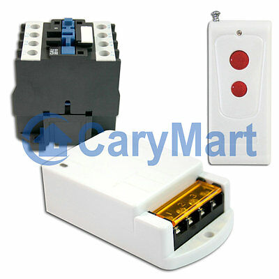 Wireless Receiver /Transmitter kits With a Contactor / AC Power Output