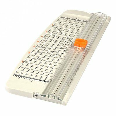 HOT SALE! JLS 12 Inch A4 Paper Cutter Trimmer White with Multi-function