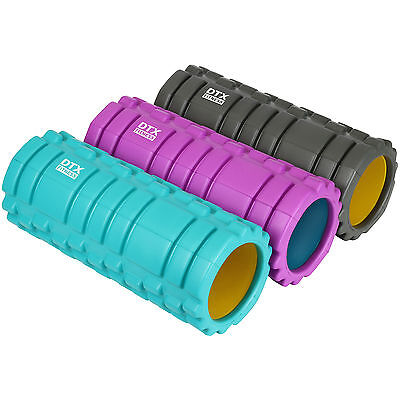 DTX Fitness EVA Foam Body Roller Massage/Yoga Workout Aid Physio Injury Recovery