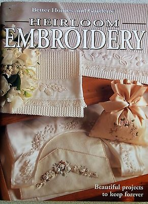 HEIRLOOM EMBROIDERY Better Homes & Gardens Cross Stitch Smocking Candlewick 1996