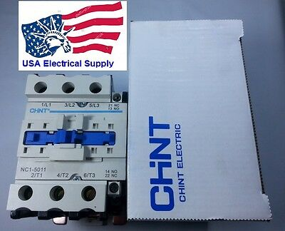 New Schneider LC1D5011 Replacement Chint Contactor NC1-5011 50A Coil 110VAC