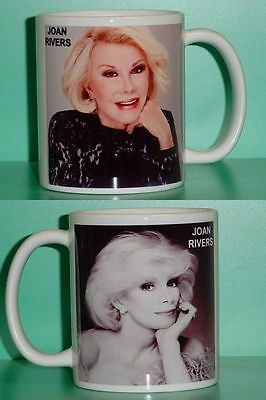 JOAN RIVERS - with 2 Photos - Designer Collectible GIFT Mug