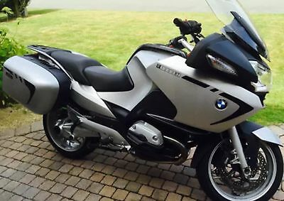 Black Reflective Fairing And Pannier Stripe For Bmw R1200Rt Ohc & Dohc Stickers