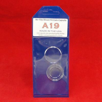 AirTite Direct Fit Coin Holder Capsule - Individual Retail Pkg Model A19 Qty 1