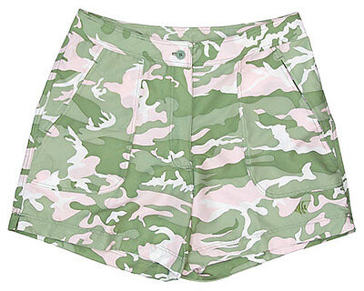 Guy Harvey Ladies Fishing Casual Pink Camo Shorts Sizes 4-14  New. Fast Shipping