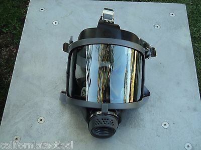 Scott/SEA Gas Mask 40mm NATO NBC Gas Mask w/2x Filters, Made in 2017 Exp 12/2022