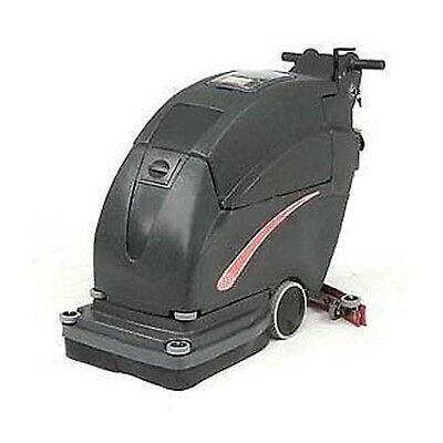 """Auto Floor Scrubber - Two 130 Amp Batteries - Cleaning Width 20"""" - 3/4HP 2 Stage"""
