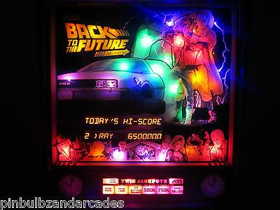 Back to The Future Pinball Machine LED Kit (B2TF) Complete Custom LED Light Kit