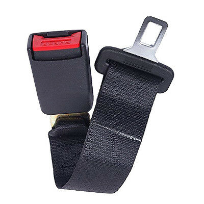"DIY New 36cm Universal 14"" Car Seat Seatbelt Safety Belt Extension 7/8"" Buckle"