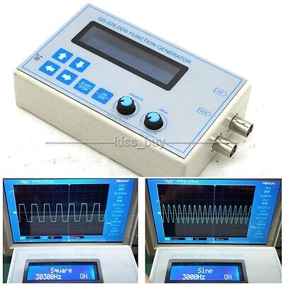 DDS Function Signal Generator Square Sawtooth Triangle Wave + shell touch button