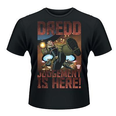 2000ad Judge Dredd Judgement Is Here T-Shirt Unisex Size Taille S PHM