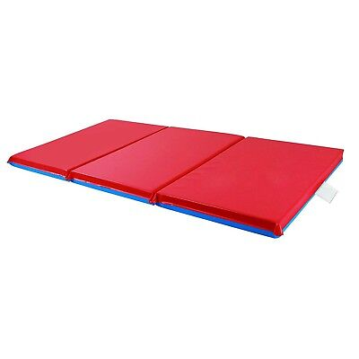 Kids School 5-Pieces Childrens Standard 1 Inch Thick 3-Fold Resting Sleeping Mat