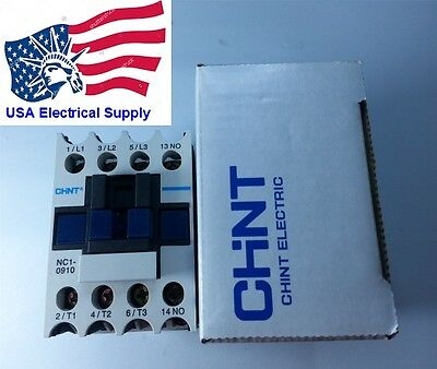 New Schneider LC1D09 Replacement Chint Contactor NC1-0910 Coil 24V