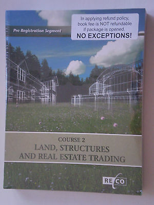 Course 2: Land, Structures and Real Estate Trading,Ontario RECO OREA, NEW $470