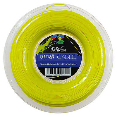 Weiss Cannon Ultra Cable 17 /1.23mm Tennis String 200m Reel