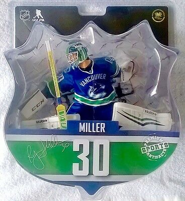 "Ryan Miller Vancouver Canucks NHL Imports Dragon 6"" Player Action Figure"