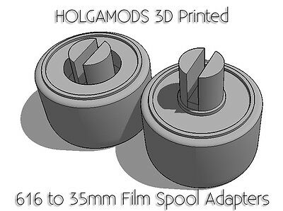 616 to 35mm spool adapters Antique and Vintage Kodak  Cameras