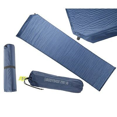 Summit Bodybase 200 Self Inflating Matress And Storage Bag Camping Outdoors