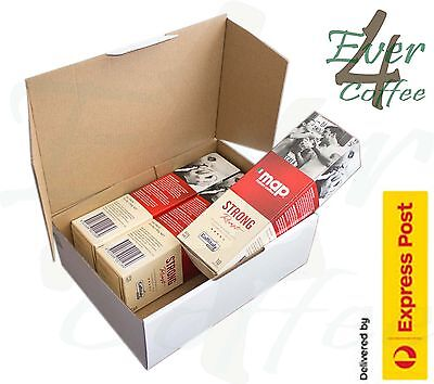 Map Italian Coffee Strong Roast 3 x 10 Caffitaly Capsules Free Express Post