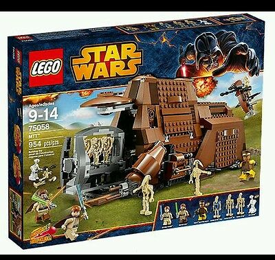 Lego 75058 Star Wars Mtt! Brand New! Retired**free Gift Include**