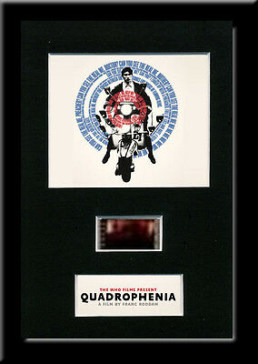 Quadrophenia Framed 35mm Mounted Film cells - filmcell movie The Who