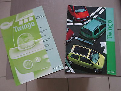 deux brochures revues renault twingo 1999 20 et 8 pages en fran ais eur 3 90 picclick fr. Black Bedroom Furniture Sets. Home Design Ideas