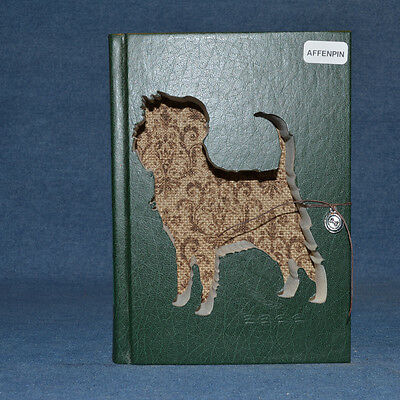 Affenpinscher Upcycled Book - 003