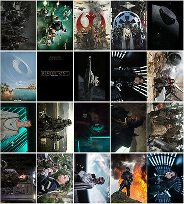 20 pcs Rogue One: A Star Wars Story Postcards Promo Cards Photo Collector Card