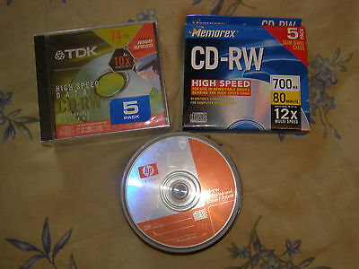 CD-RW High Speed Rewritable Disks (200 Disks) unopened